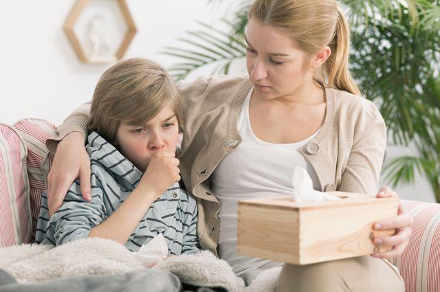 кашель у детей при коронавирусе