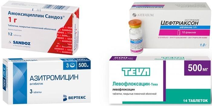антибиотики одобренные Минздрав