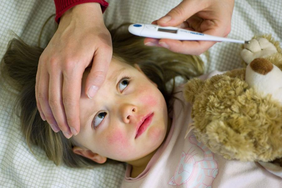 температура при коронавирусе у детей