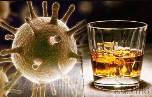 влияние алкоголя на коронавирус у организме