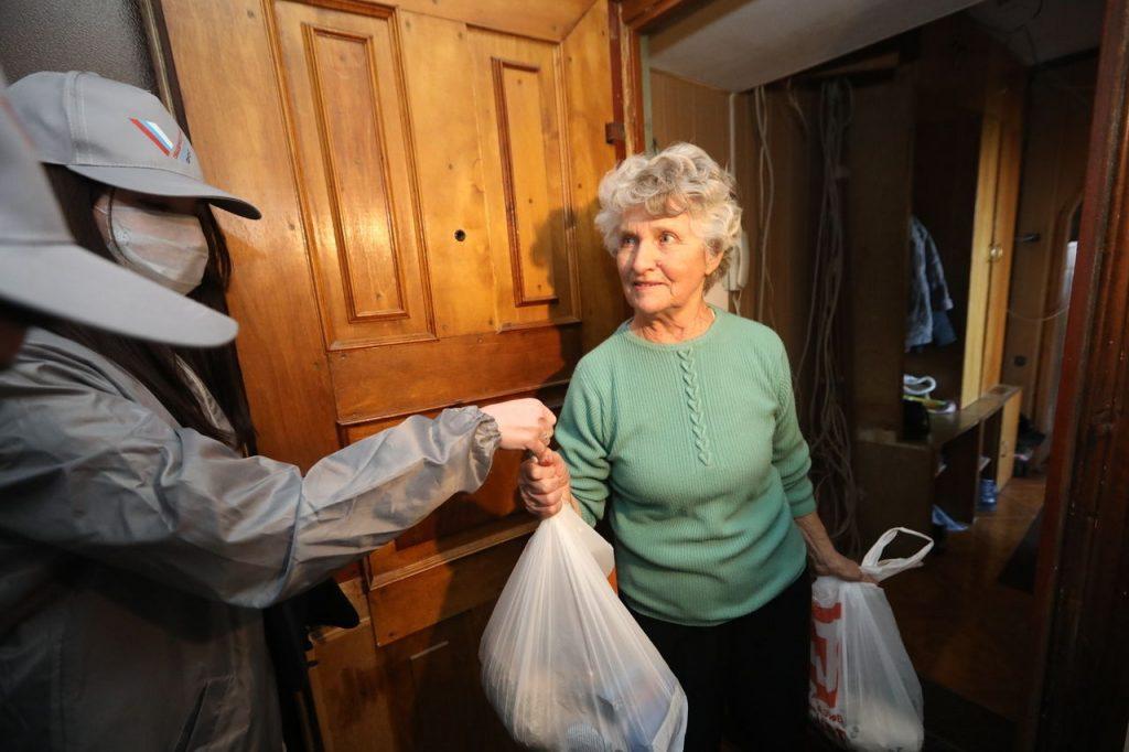 помощь пожилым людам при коронавирусе