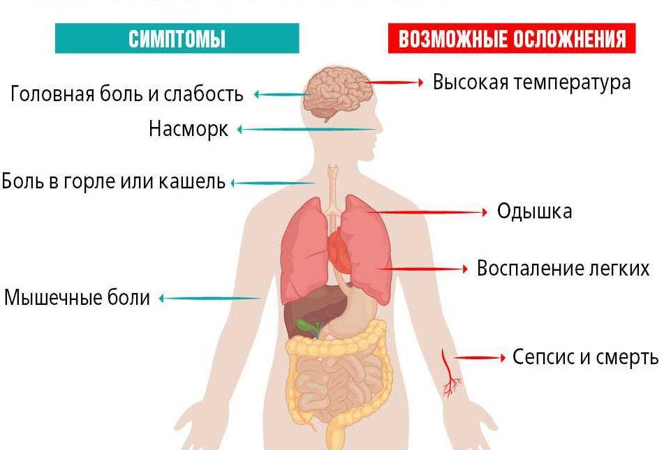 Симптомы коронавируса в 2021 году