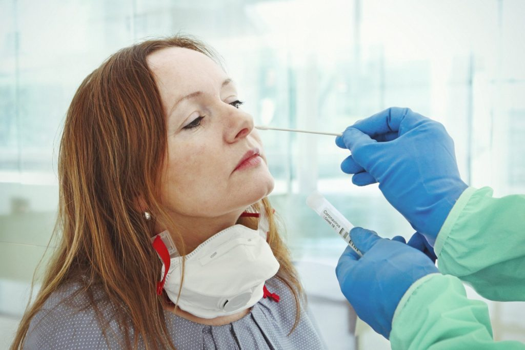 Наличие ПЦР-теста об отсутствии коронавируса